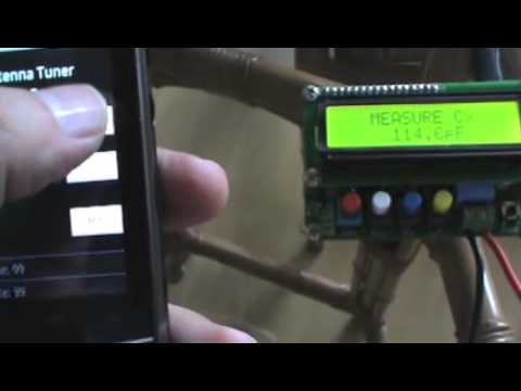 Antenna Tuner controlled by Arduino and Android Test I