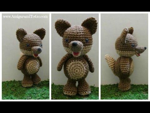 Amigurumi Little Bigfoot Panda : Crochet Along Make A Wolf - YouTube