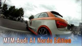 "MTM Audi A1 500 HP ""The beast"" 324 km/h Top Speed beats Porsche 911 and BMW M3 Onboard"