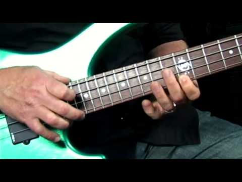 Stu Hamm U: Tap Bass - #8 Playalong - Bass Guitar Lessons video