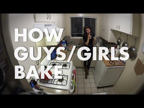 How Guys/Girls Bake