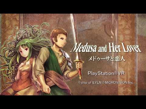 Medusa and Her Lover: PSVR Launch Trailer