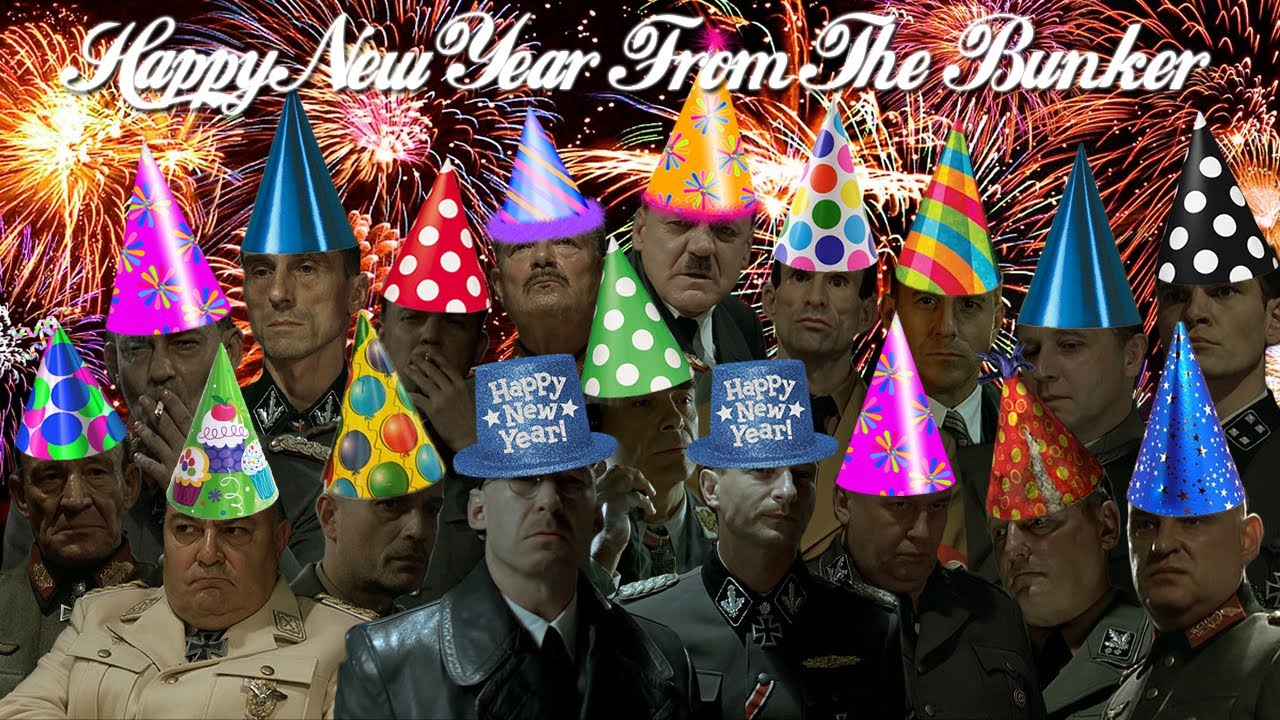 Hitler is informed it's New Year