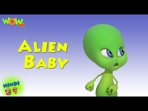 Alien Baby - Motu Patlu in Hindi WITH ENGLISH, SPANISH & FRENCH SUBTITLES thumbnail
