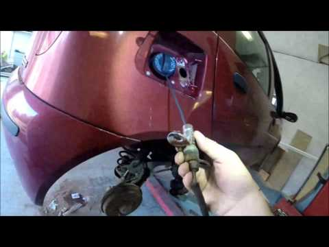Auto repair: Changing a gas pipe on my car