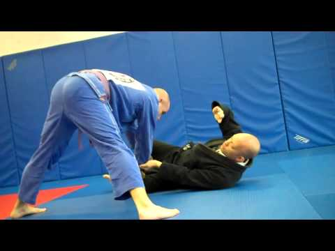 Pendergrass Academy - February 2012 Technique of the Month - Open Guard Reversal off Guard Pass Image 1