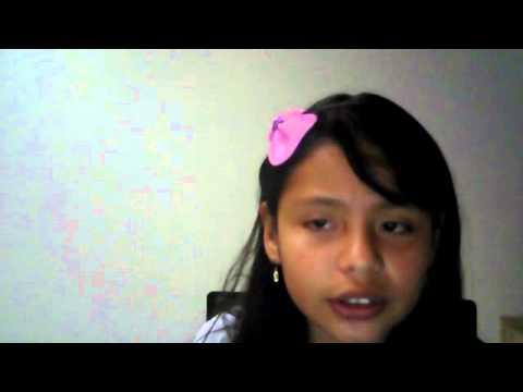 Niña canta excelente cancion de yuridia