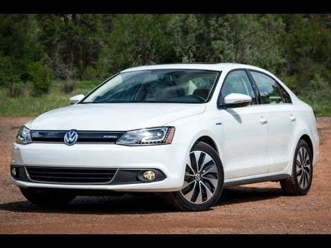 2013 Volkswagen Jetta Hybrid Start Up and Review 1.4 L Turbo 4-Cylinder Hybrid