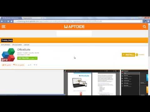Como descargar aplicaciones desde APTOIDE a tu pc 2014