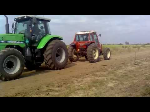 Cinchada.... Agco Allis 150 Vs. Fiat 980Dt