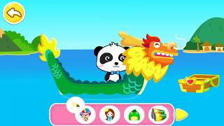 Fun Game For Children Raft, sailboat, submarine - Little Panda Captain - BabyBus Game for #Kids