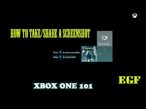 how to take/share screenshot on xbox one youtube