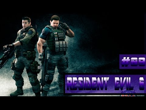 Resident Evil 6 [Co-Op] #09 - Piers Nivans - Cobra Invisivel