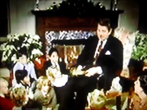 Christmas at the White House with Presidential Families Part V Nixon, the Reagans, Barbara Bush