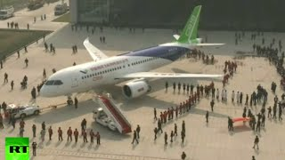 Meet C919: China unveils first homegrown passenger jet to challenge Boeing, Airbus