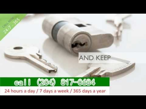 24 hour Emergency Locksmith, Winnipeg MB call (204) 817-0684