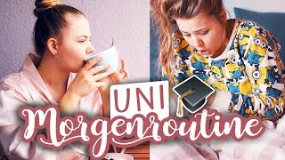 Meine UNI MORGENROUTINE! 👩🏼‍🎓 | #MayBePerfect