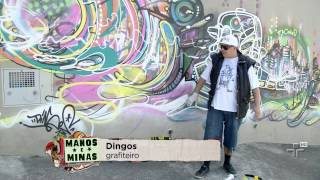 Dingos em Interlagos - Grafite na Quebrada