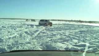 VW Tiguan Ice drift
