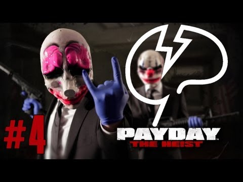 Mindcrack FPS: Payday: The Heist - Episode 4 - Harrassing the injured