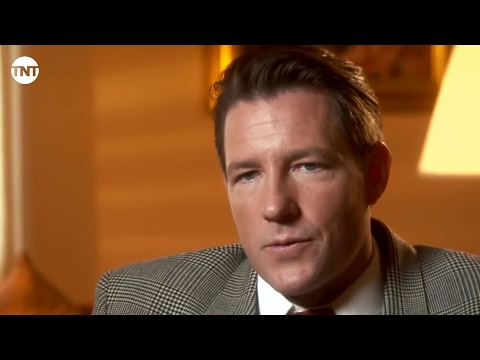 Edward Burns Talks Bugsy Siegel | Mob City | TNT