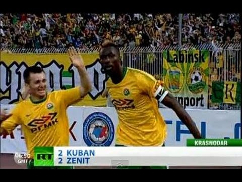 Terrific Traore brace for Kuban puts Zenit title on hold