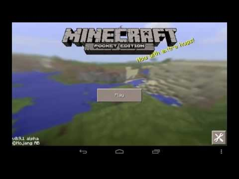 0.9.5 BLOCKLAUNCHER FOR 0.9.5 Minecraft Pocket Edition MODS