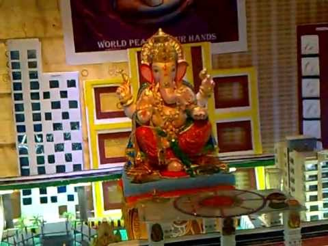 Gharguti ganpati decoration youtube for Home decorations youtube