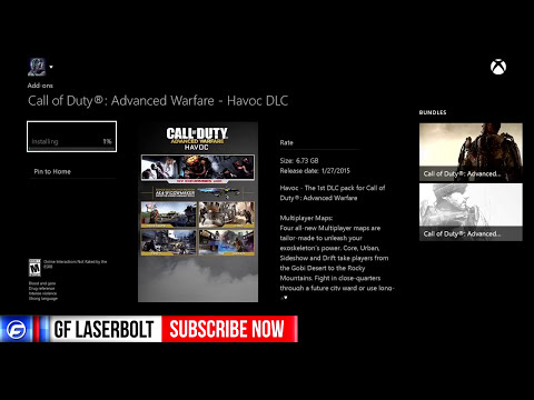 Call of Duty ADVANCED WARFARE How to DOWNLOAD HAVOC DLC EARLY EXO ZOMBIES EARLY