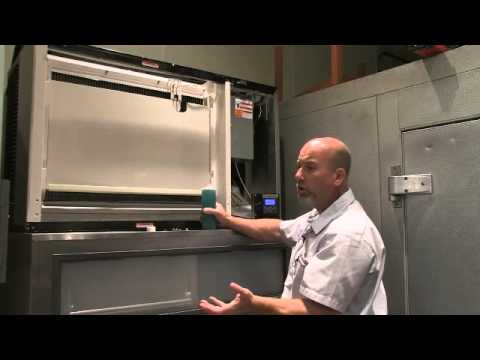 Cleaning a Manitowoc Ice Machine
