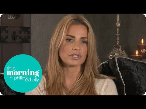 Katie Price Meets Twins With Severe Learning Difficulties   This Morning