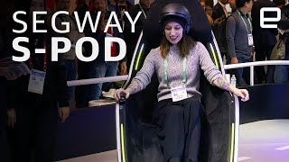 Segway's S-Pod hands-on at CES 2020
