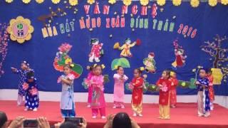 Múa Bé Chúc Tết - Mầm non Hướng Dương Nha Trang Khánh Hòa