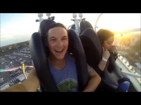 Gopro Roller Coaster (oc fair 2013 ) #1