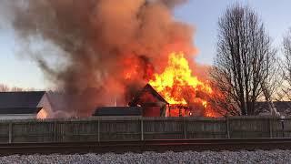 Suffolk Meadows House Fire