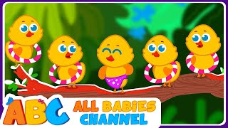 Five Little Ducks | Nursery Rhymes and Kids Songs | Songs for Children By All Babies Channel