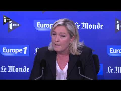 Marine Le Pen ne veut pas que le