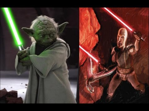 Versus Series: Yoda Vs. Darth Plagueis