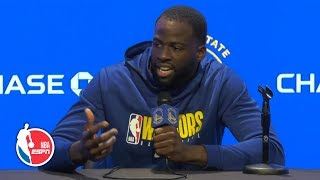 Draymond Green goes off on NCAA after Fair Pay to Play Act signed | 2019 NBA Media Day
