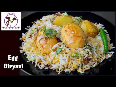 Egg Biryani Recipe - ডিম্ এর দম বিরিয়ানি | Bengali Egg Dum Biryani Recipe | Kolkata Style Biryani