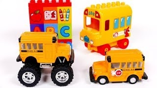 School Bus Toys for Kids | Yippee Toys Video
