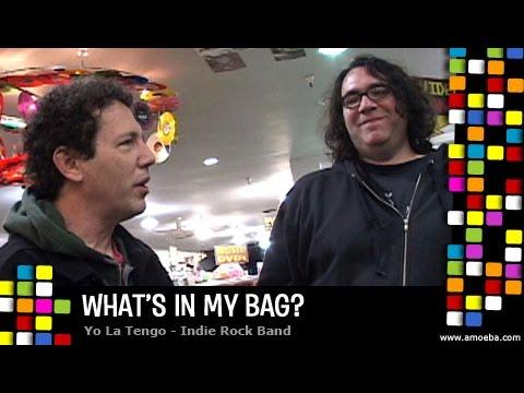 Yo La Tengo - What's In My Bag?