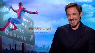 Spider Man Homecoming  Cast Interview