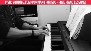 Too Good At Goodbyes Sam Smith Piano COVER + FREE LESSON!
