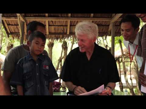 President Clinton in Banda Aceh 10 Years after Tsunami