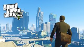 GTA 5 PC Mods - REAL LIFE MOD #2! GTA 5 School & Jobs Roleplay Mod Gameplay! (GTA 5 Mod Gameplay)