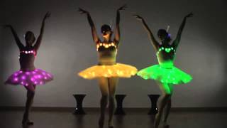 LED Ballerinas - Ballerina Dance / Modern Ballet Show - Contraband Entertainment