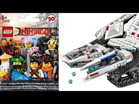 ЛЕГО НИНДЗЯГО Фильм Ледяной танк Зейна и наборы LEGO Ninjago Movie 2018