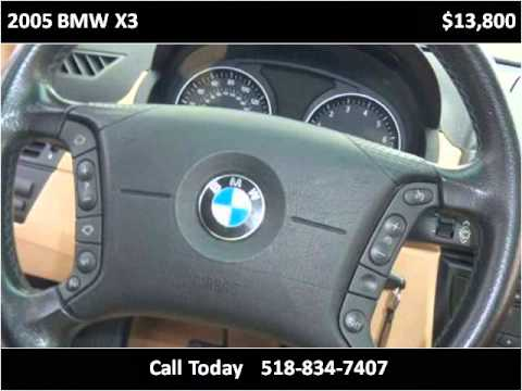 2005 BMW X3 Used Cars Keeseville NY