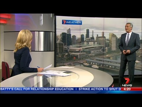 Seven News Melbourne  - First Afternoon News Bulletin Montage [10.08.15]